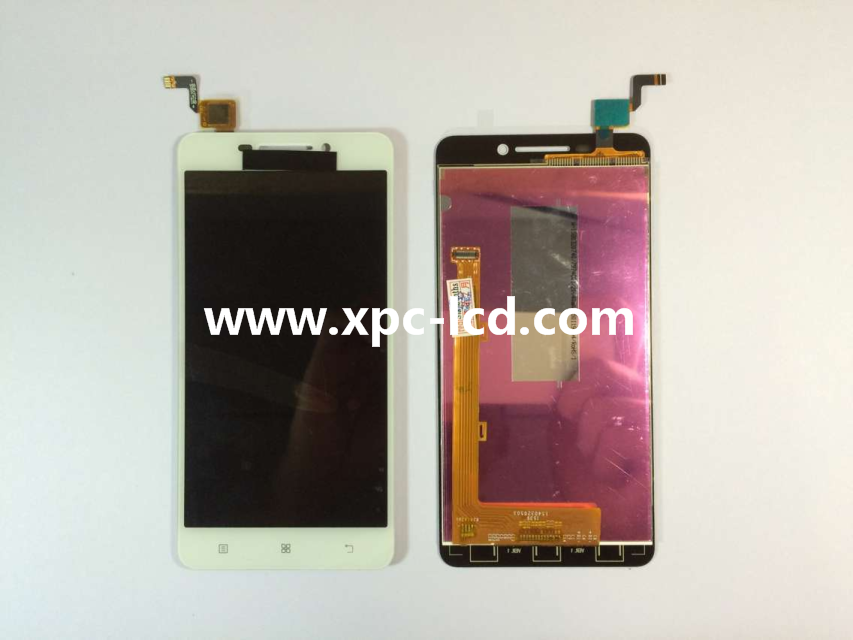 For Lenovo A5000 LCD touch screen White