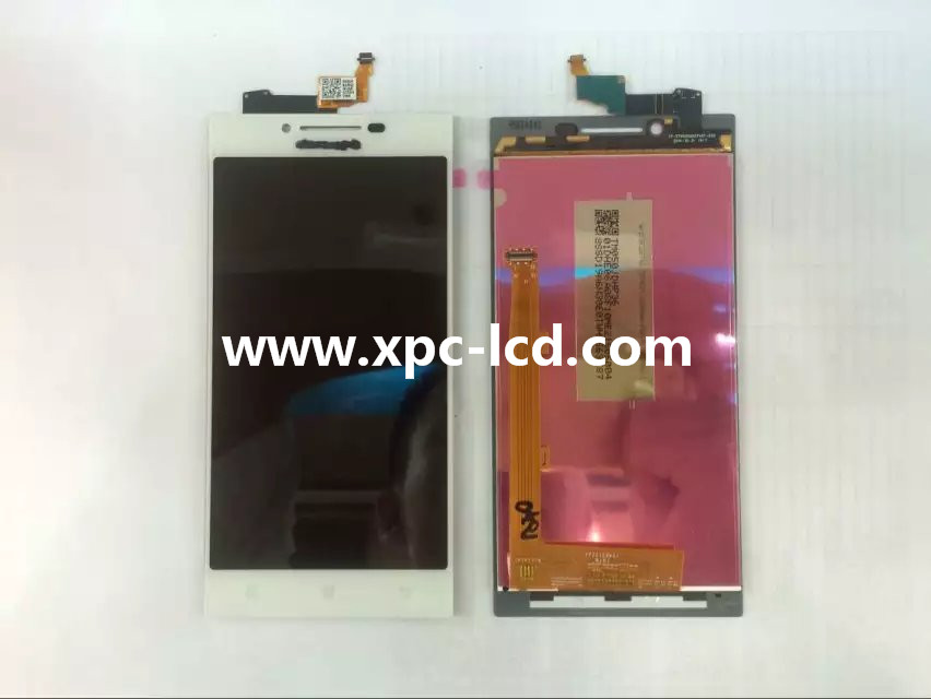 For Lenovo P70 LCD touch screen White