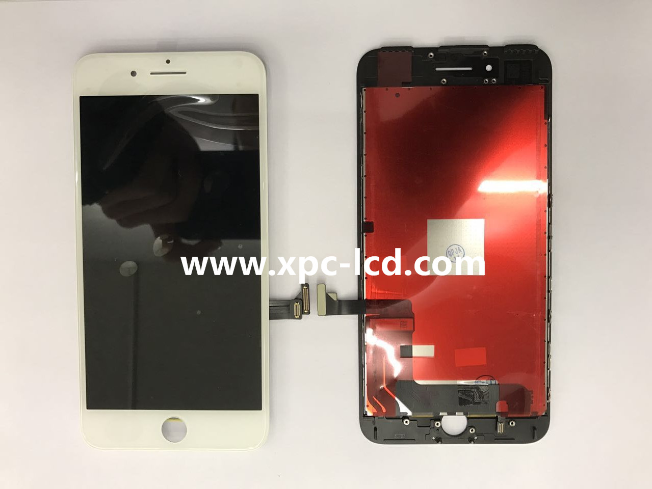 For Iphone 7 plus LCD touch screen White