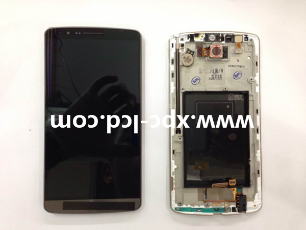 For LG G3 F400 LCD touch screen with frame Grey