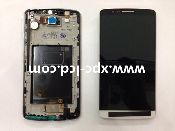 For LG G3 F400 LCD touch screen with frame White