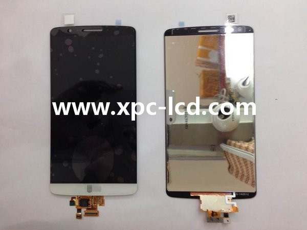 For LG G3 LCD touch screen White