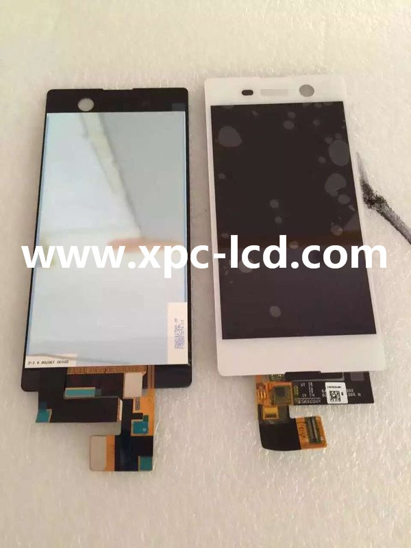 For Sony M5 LCD touch screen White