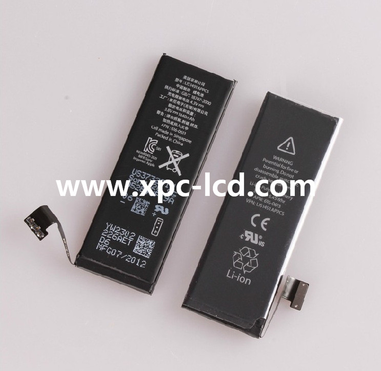 Mobile phone for Iphone 5S Battery
