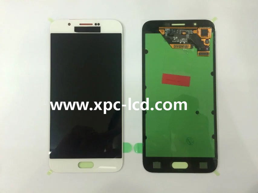 For Samsung Galaxy A8 A8000 LCD touch screen White