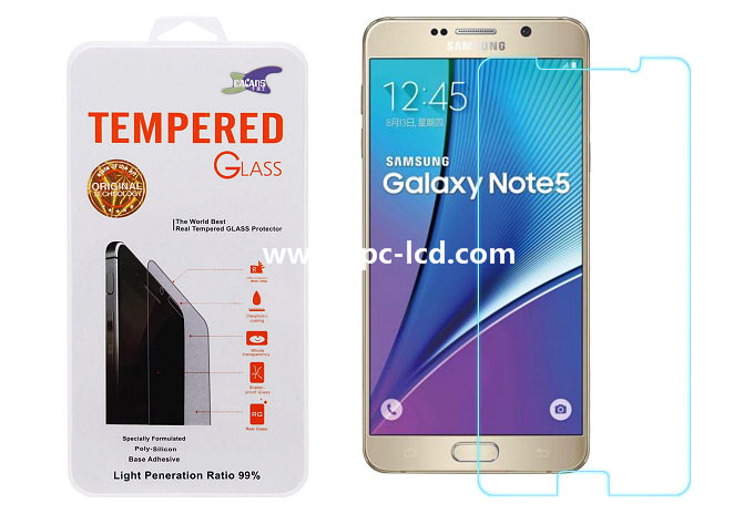 Tempered glass for Samsung Galaxy Note 5