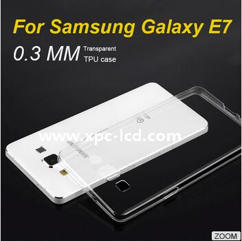 For Samsung Galaxy E7 E7000 Utral thin TPU case