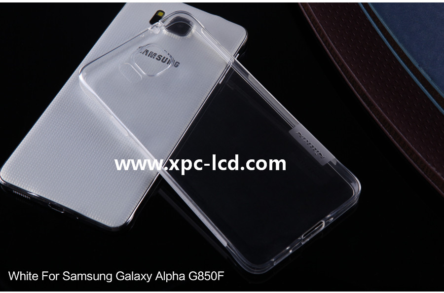 For Samsung Galaxy Alpha G850F  Utral thin TPU case