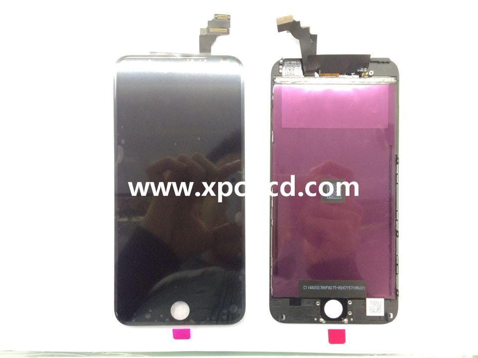 For Iphone 6 plus LCD touch screen Black