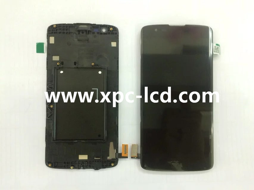 For LG K8 LCD touch screen Black