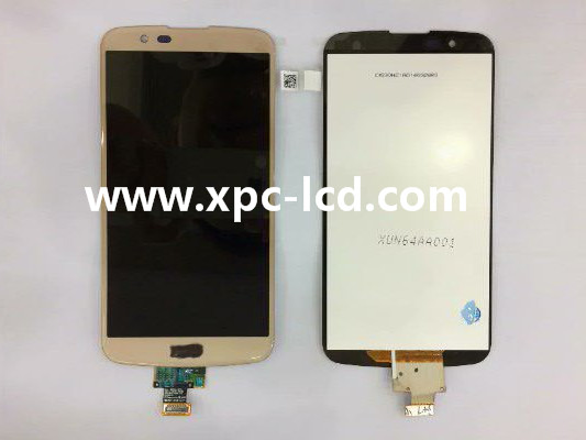 For LG K10 LCD touch screen Gold