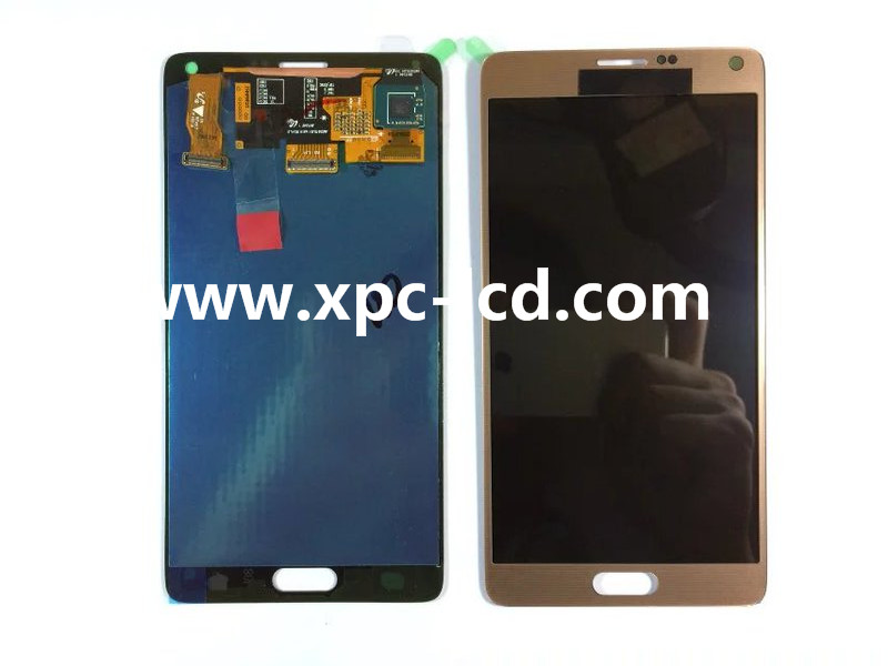 For Samsung Galaxy Note 4 LCD touch screen Gold