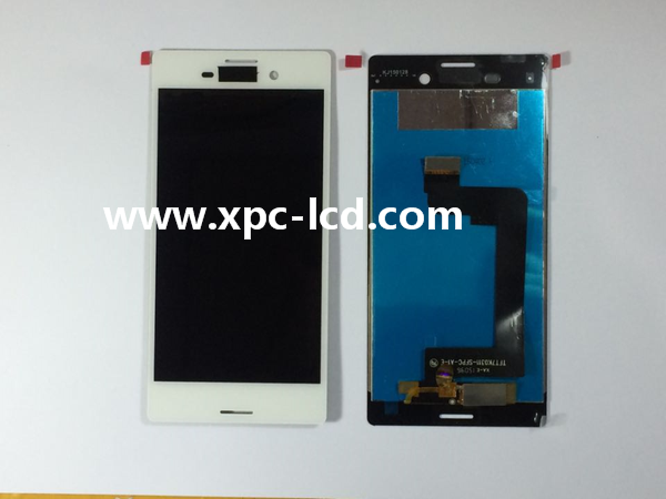 For Sony Xperia M4 Aqua LCD touch screen White