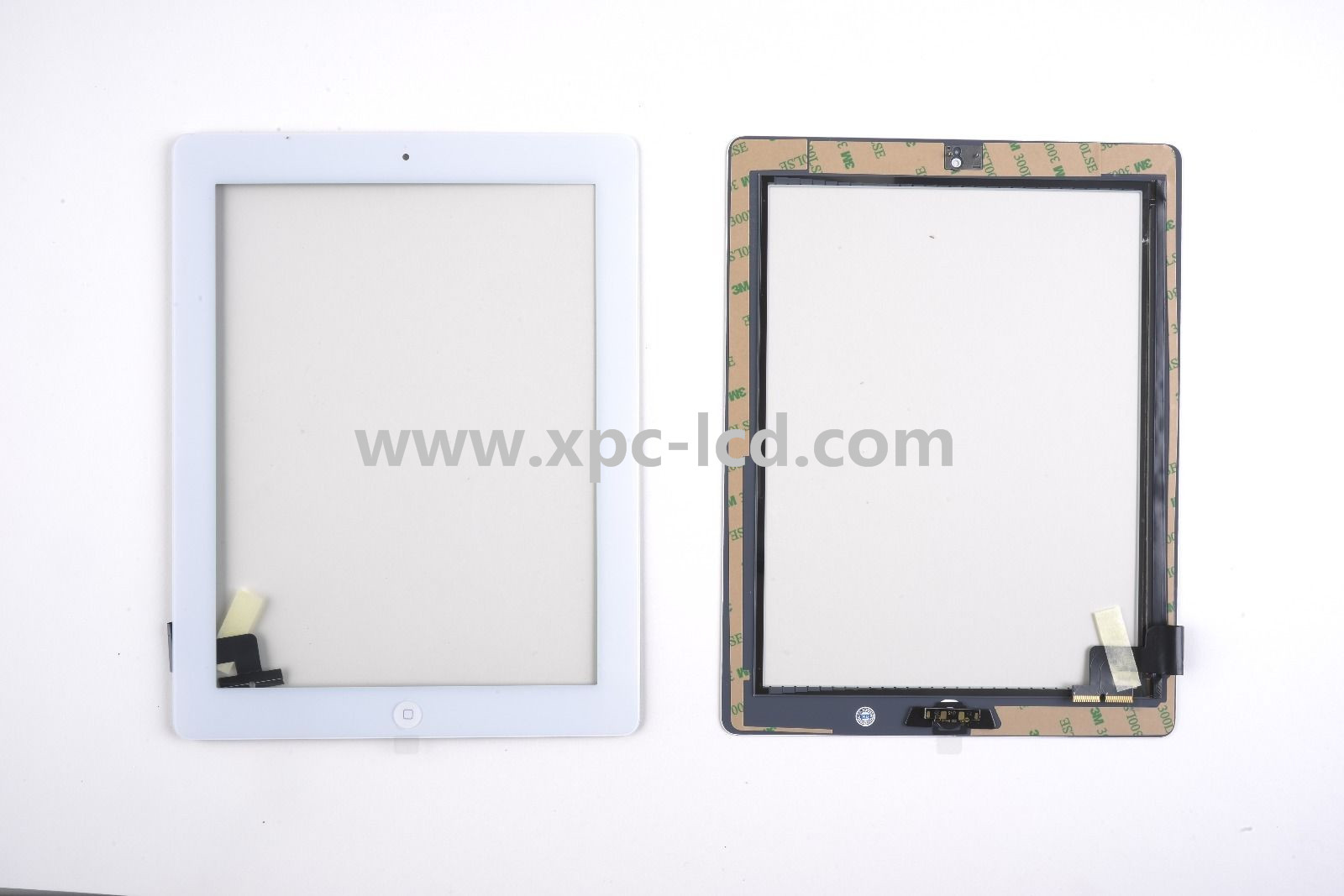 For Ipad 2 tablet touch screen White