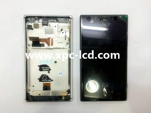 For Nokia Lumia 825 LCD touch screen Black