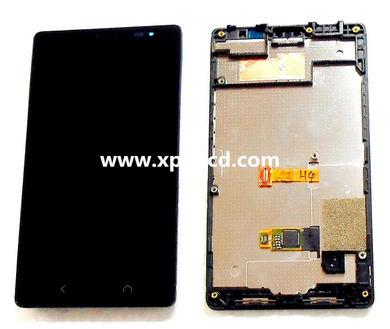 For Nokia X2 LCD touch screen Black