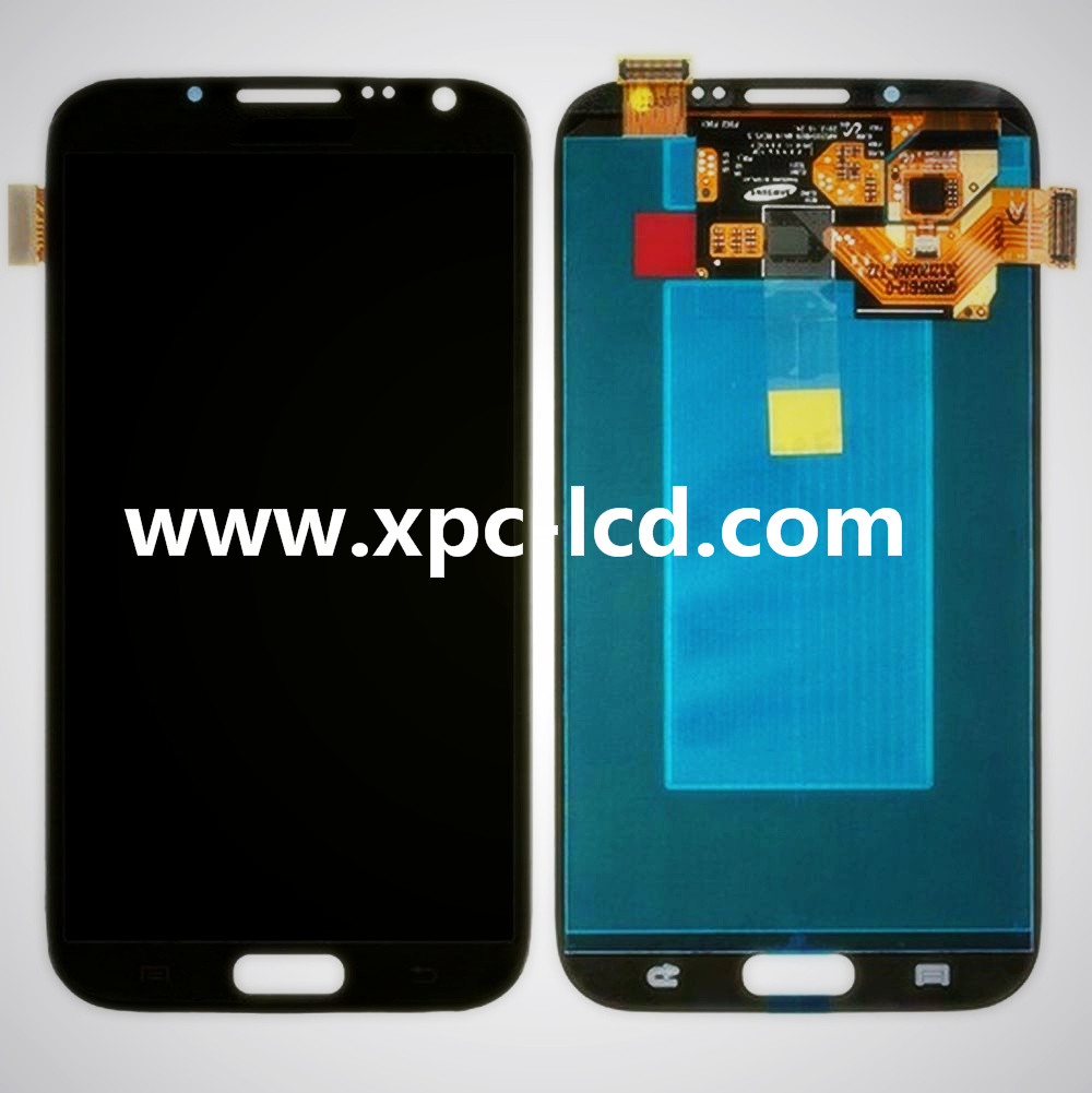 For Samsung Note 2 LCD N7100 touch screen Black