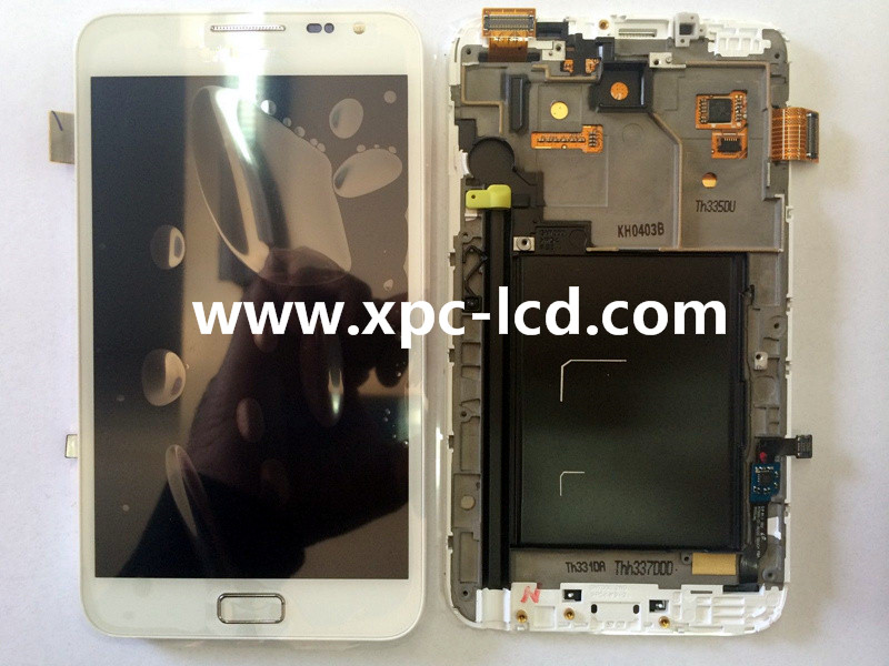 For Samsung Note 1 N7000 LCD touch screen White