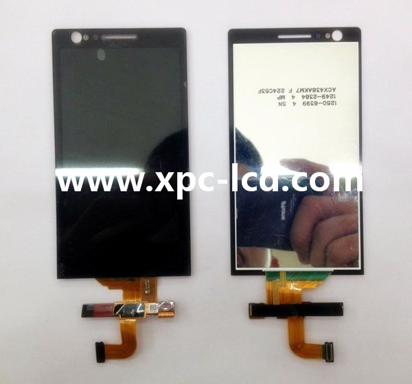 For Sony LT22 Xperia P LCD touch screen Black