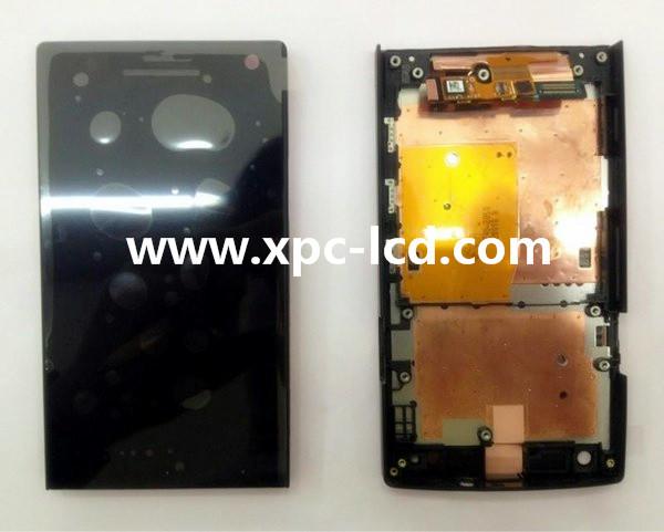 For Sony LT26 Xperia S LCD touch screen Black