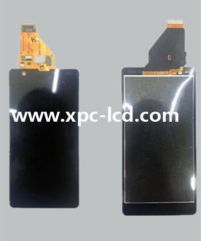 For Sony Xperia ZR M36H LCD touch screen Black
