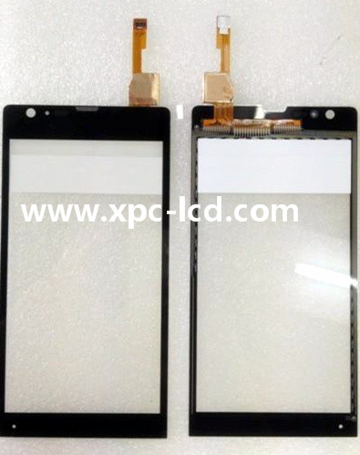 For Sony M35c Xperia SP mobile phone touch screen Black