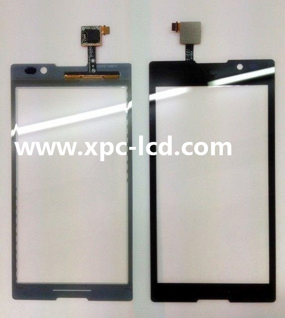 For Sony Xperia C S39h mobile phone touch screen Black