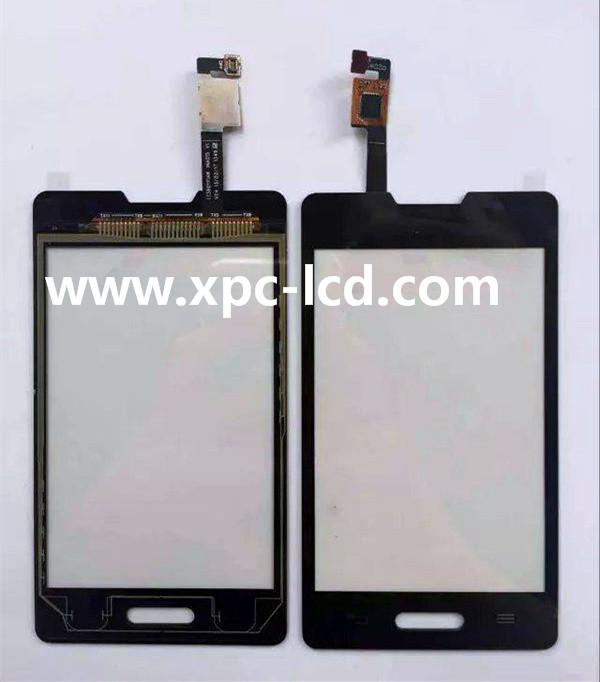 For LG Optimus L4II E440 mobile phone touch screen Black