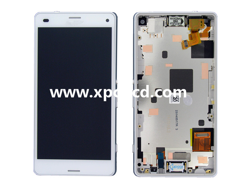 For Sony Xperia Z3 compact D5833 LCD touch screen Black