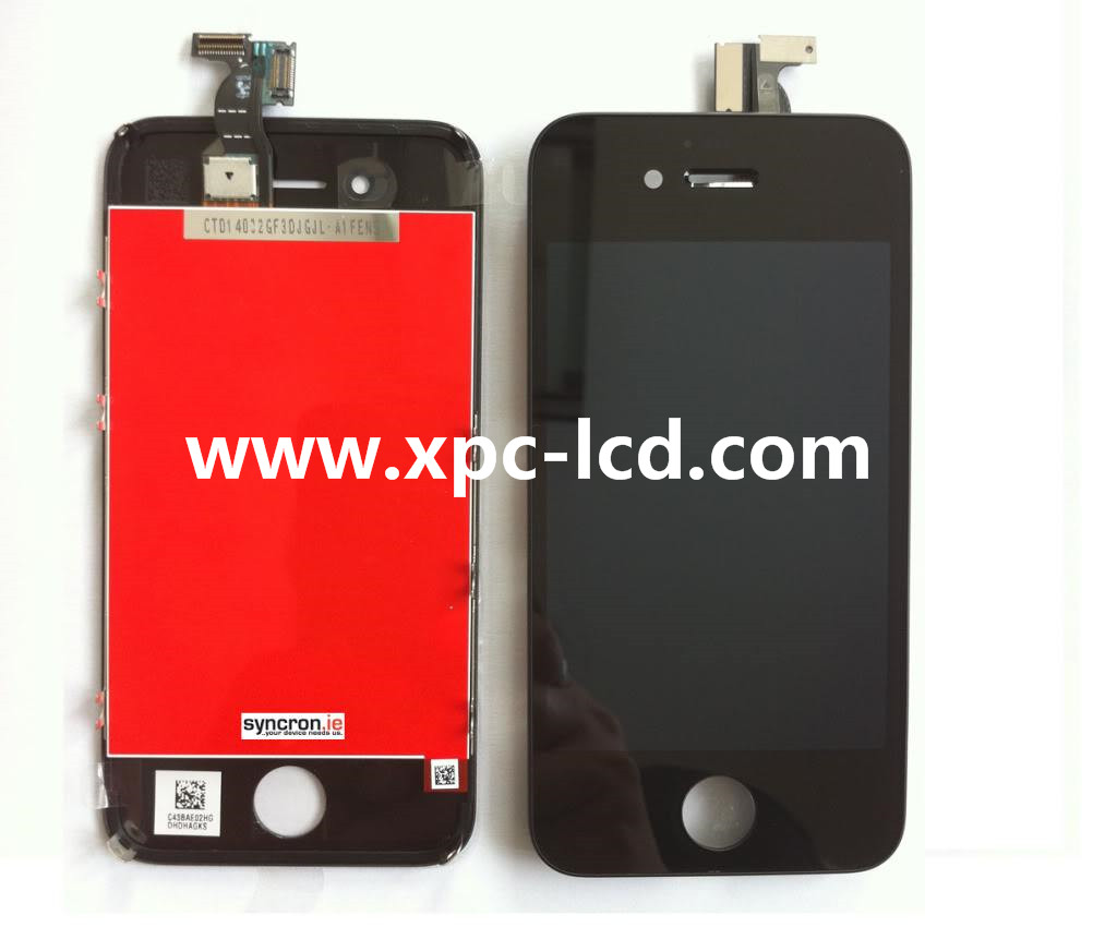 For Iphone 4s LCD touch screen Black