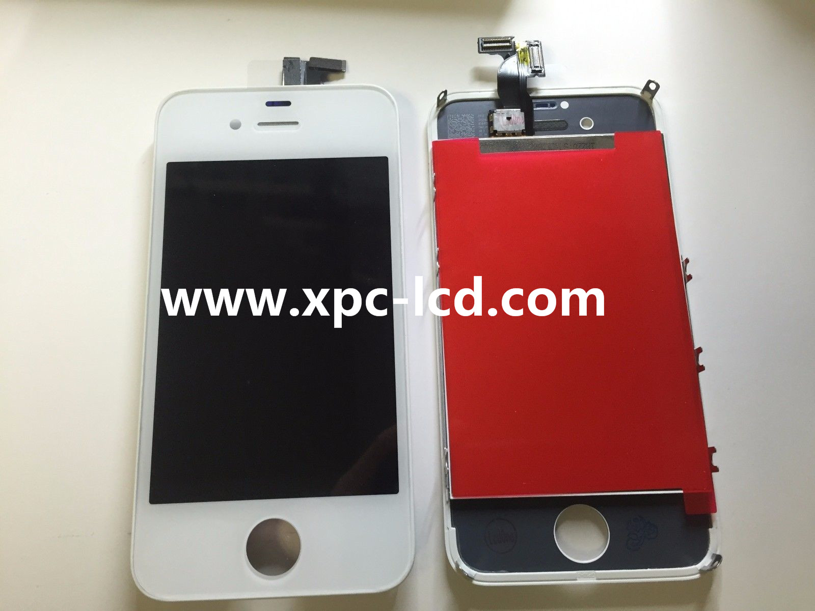 For Iphone 4s LCD touch screen White