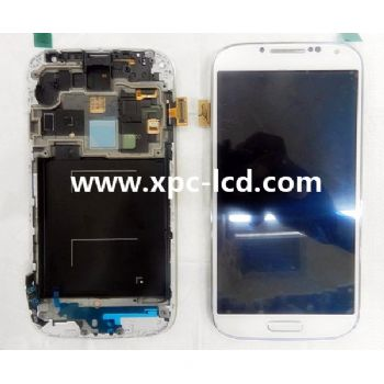 For Samsung S4 I9500 I9505 LCD touch screen White