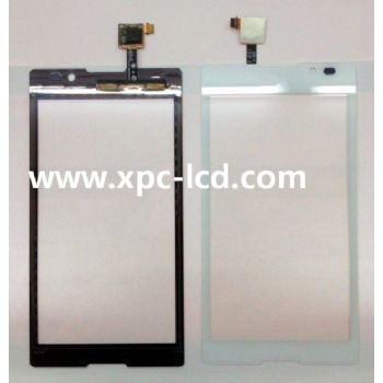 For Sony Xperia C S39h mobile phone touch screen White