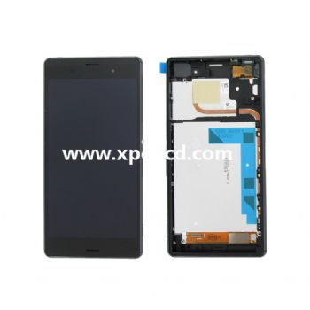 For Sony Xperia Z3 L55T dual version LCD touch screen Black