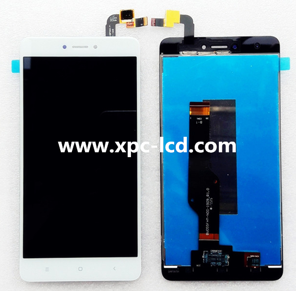 Original new Xiaomi Redmi Note 4X LCD and touch screen White