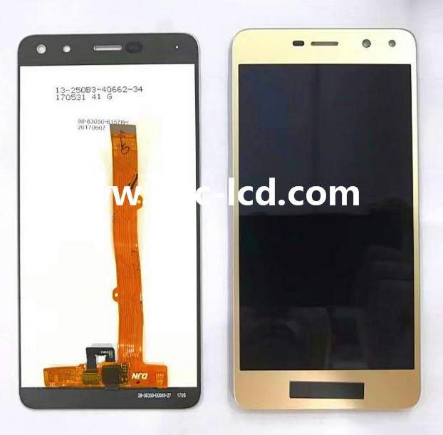 Best quality Huawei Y6 2017 LCD with digitizer White