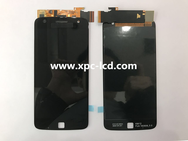 For Motorolar Z Play LCD touch screen Black