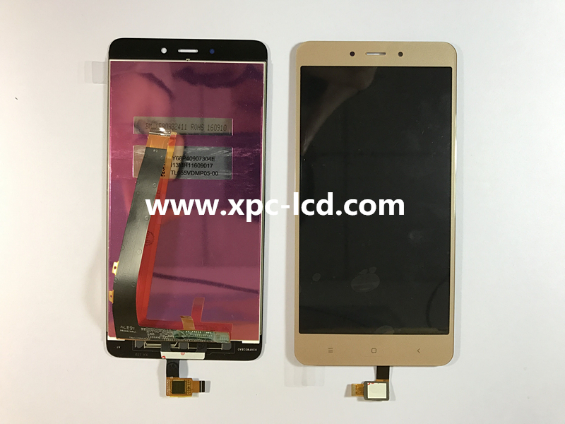 For Xiaomi Redmi Note 4 LCD touch screen Gold