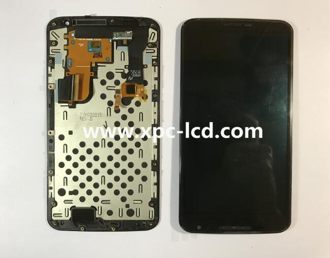 For Motorola Nexus 6 LCD touch screen Black