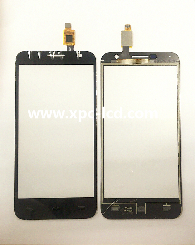 For Alcatel OT 6016 mobile phone touch screen Black