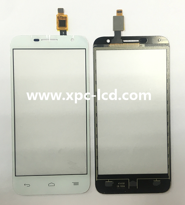 For Alcatel OT 6016 mobile phone touch screen White