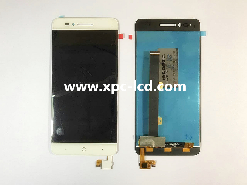 For ZTE Blade A610 LCD touchscreen White