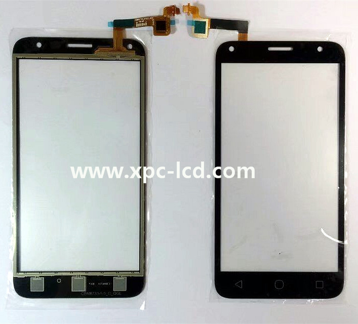 For Alcatel OT 5010 One touch pixi 4 digitizer screen Black