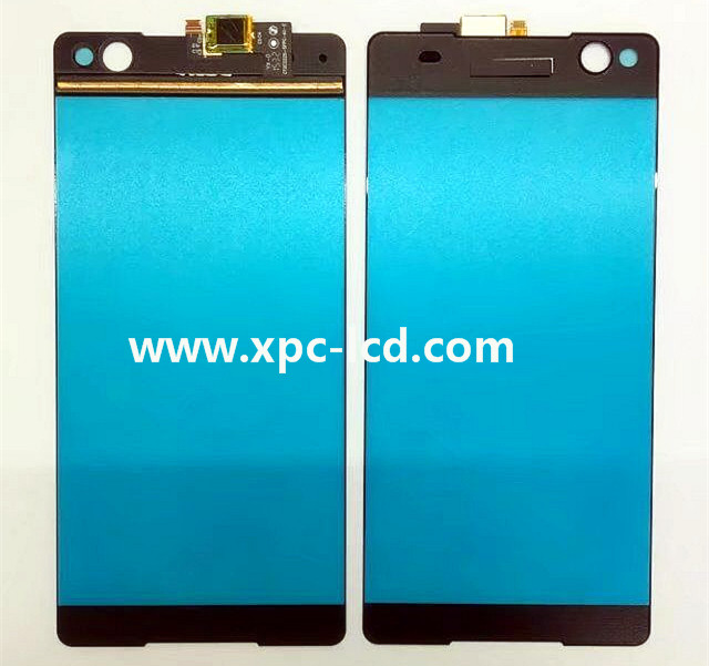 For Sony Xperia C5 Ultra digitizer screen Black