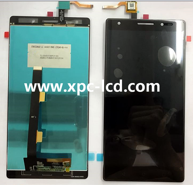 For Factory Lenovo Phab2 Plus PB2-670M LCD + touch screen Black