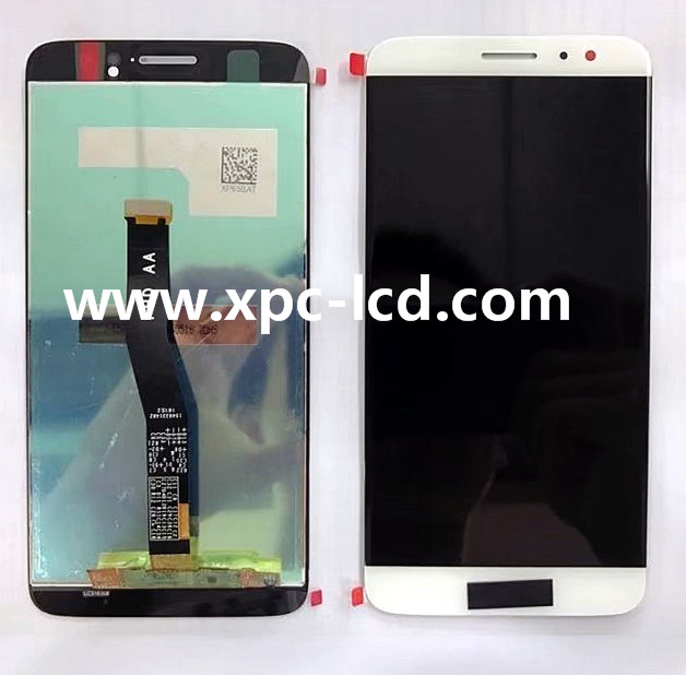 For Huawei Nove plus LCD with touchscreen White