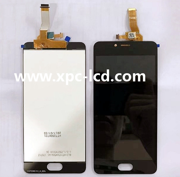 For Meizu M5c Mobile phone LCD with touch screen assembly Black