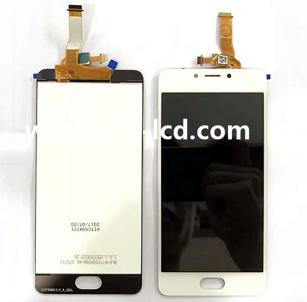For Meizu M5c Display with digitizer White