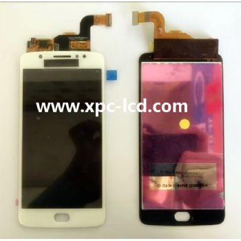 China wholesale price Motorola Moto E4 LCD with tocuh White