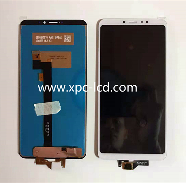 Good quality Xiaomi Max 3 LCD with touch White